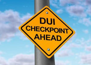 DUI and sobriety checkpoint