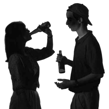 Teens Drinking Alcohol